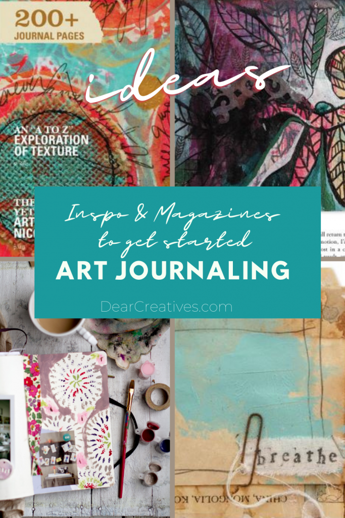 Have you wanted to learn how to journal_ Or art journal_ Find journaling ideas, prompts, inspiration, plus our favorite - art journaling magazine... DearCreatives.com