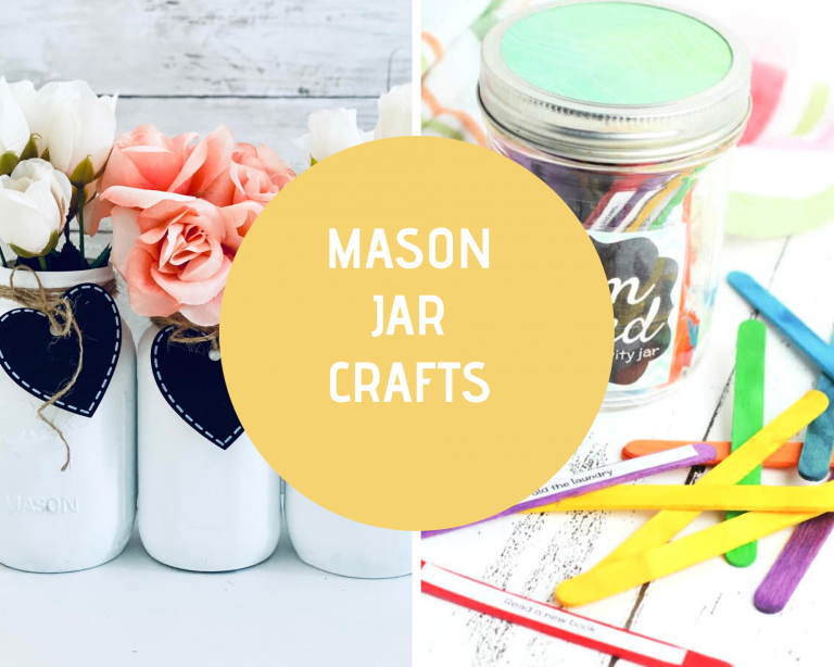 Mason Jar Crafts - Mason Jar and Jar Crafts for every season. Including gifts in a jar and mason jar food crafts. They are fun, easy and some come with free printables. See all the the ideas for mason jars at DearCreatives.com