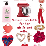 Valentine's Gifts for girlfriend, wife, her...Use these as Valentine's or for Galentine's Day... A variety of gifts she will love receiving. DearCreatives.com