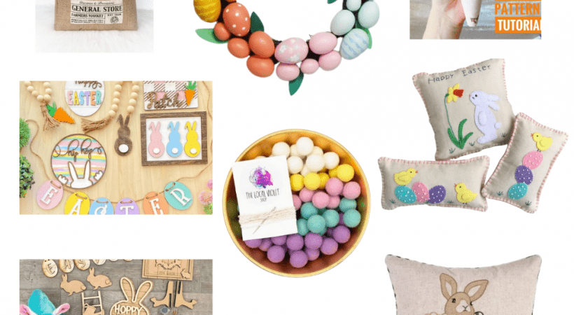 Easter Decorations To Buy And DIY