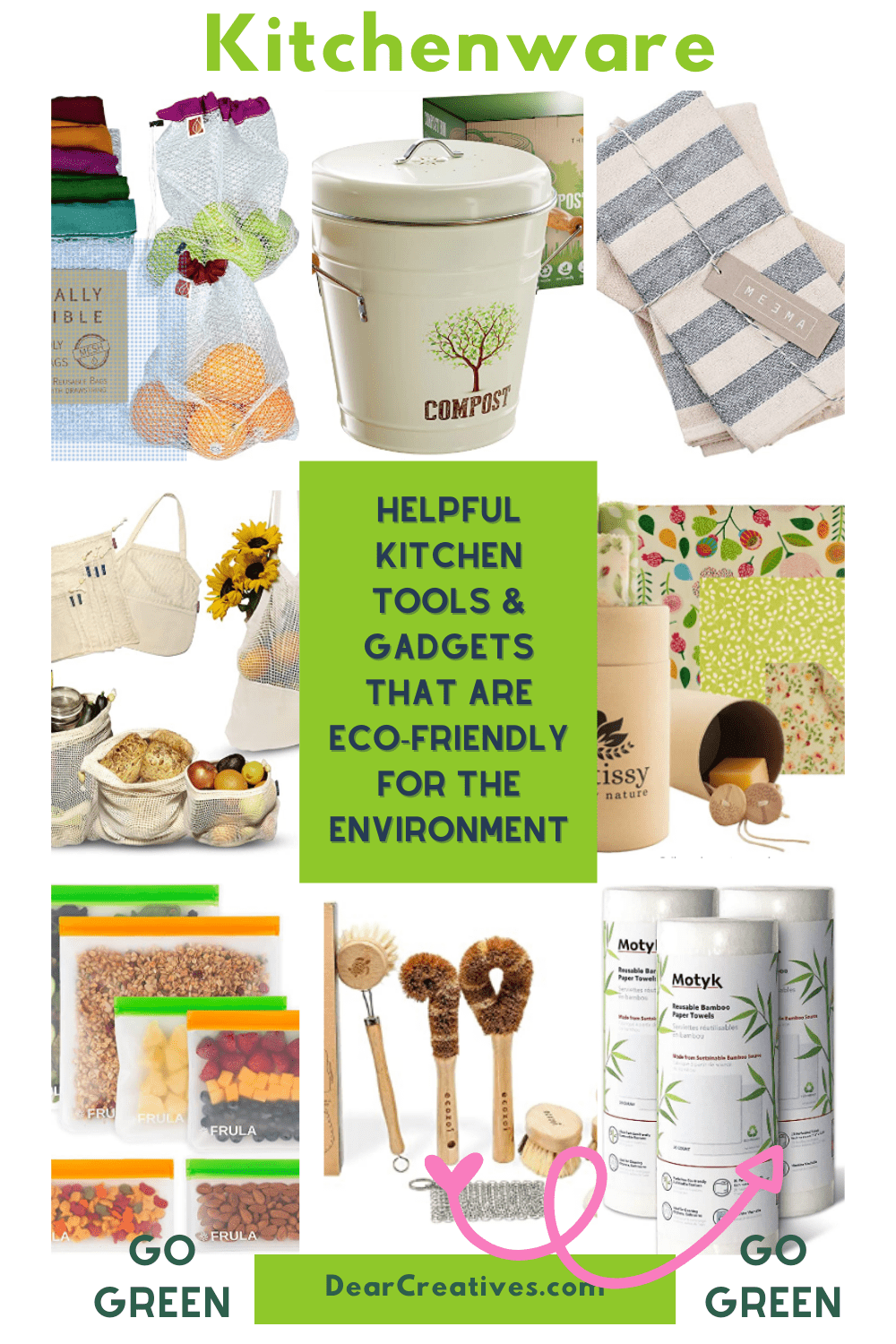 20+ Eco-Friendly Kitchenware – Kitchen Tools To Help You Go Green!