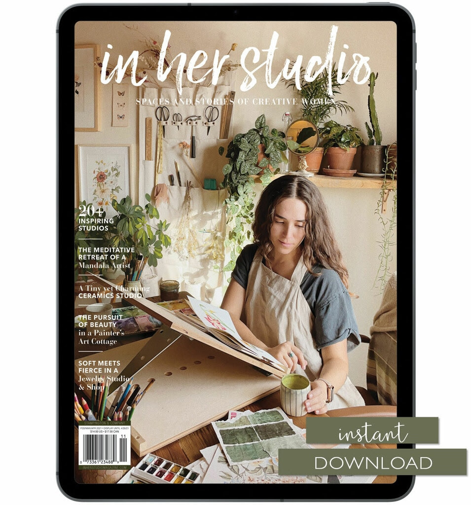 Stampington Magazines Sale! In Her Studio, Art Journaling, creative magazines...