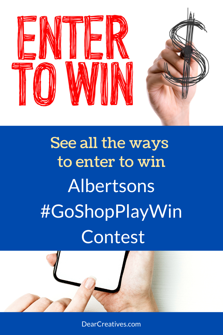 Albertsons #GoShopPlayWin Shop, Play, Win