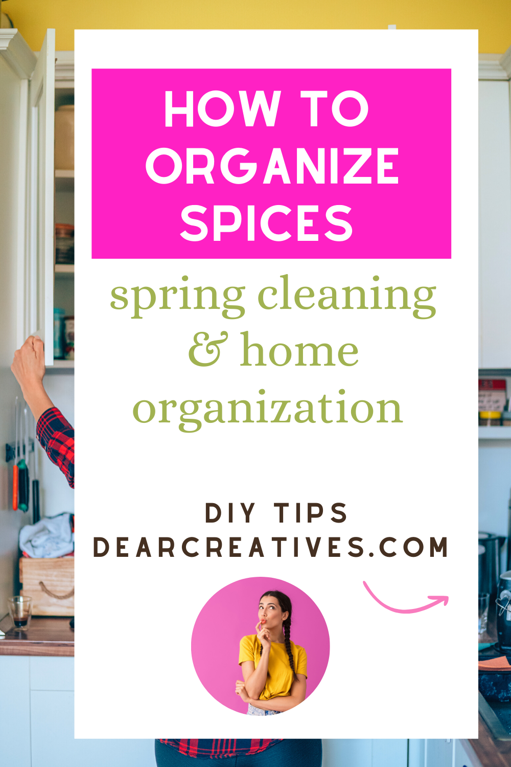 How To Organize Spices – Kitchen Tips