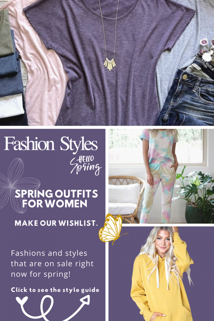Fashion Styles - Spring outfits for women - spring fashions and styles - get the style get at DearCreatives.com