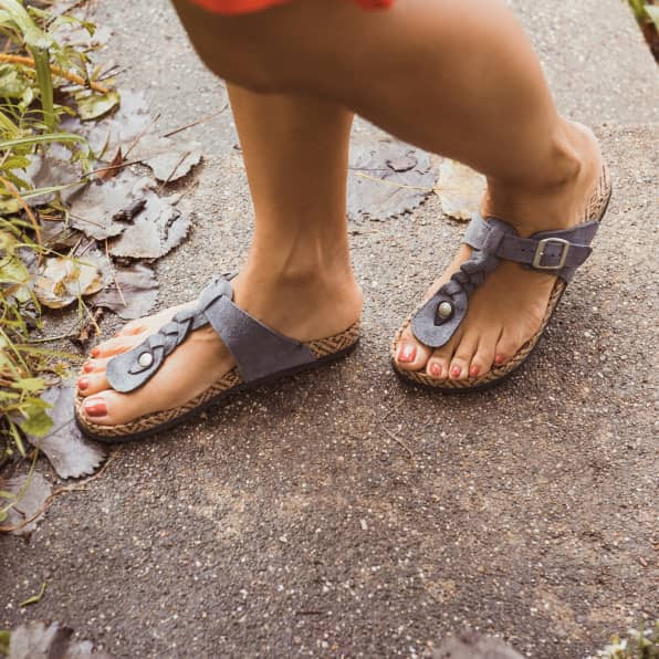 Muk Luk Sandals - Faux Birkenstocks - Jane