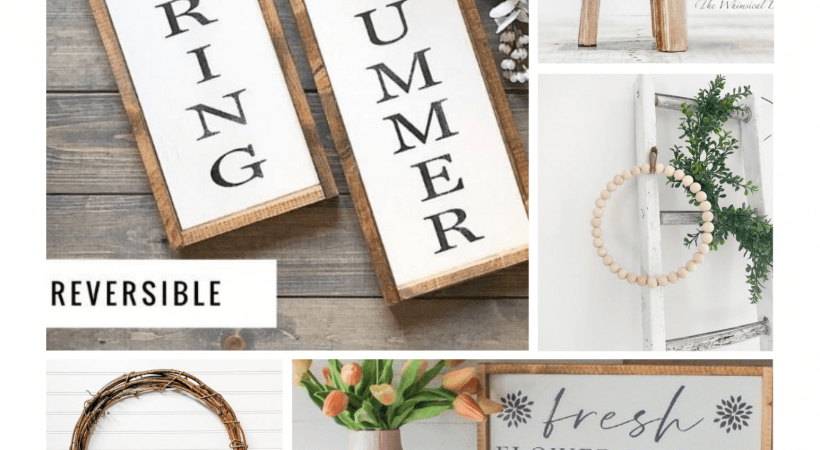 10+ Home Decorating Ideas For Spring & Summer