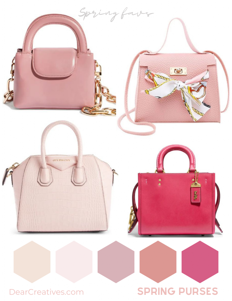 Purses for spring - It is always good to get the latest purses wear. See our favorites for spring. DearCreatives.com