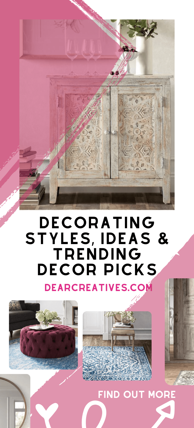 Decorating Styles – Modern, Boho, Chic… +Sale!