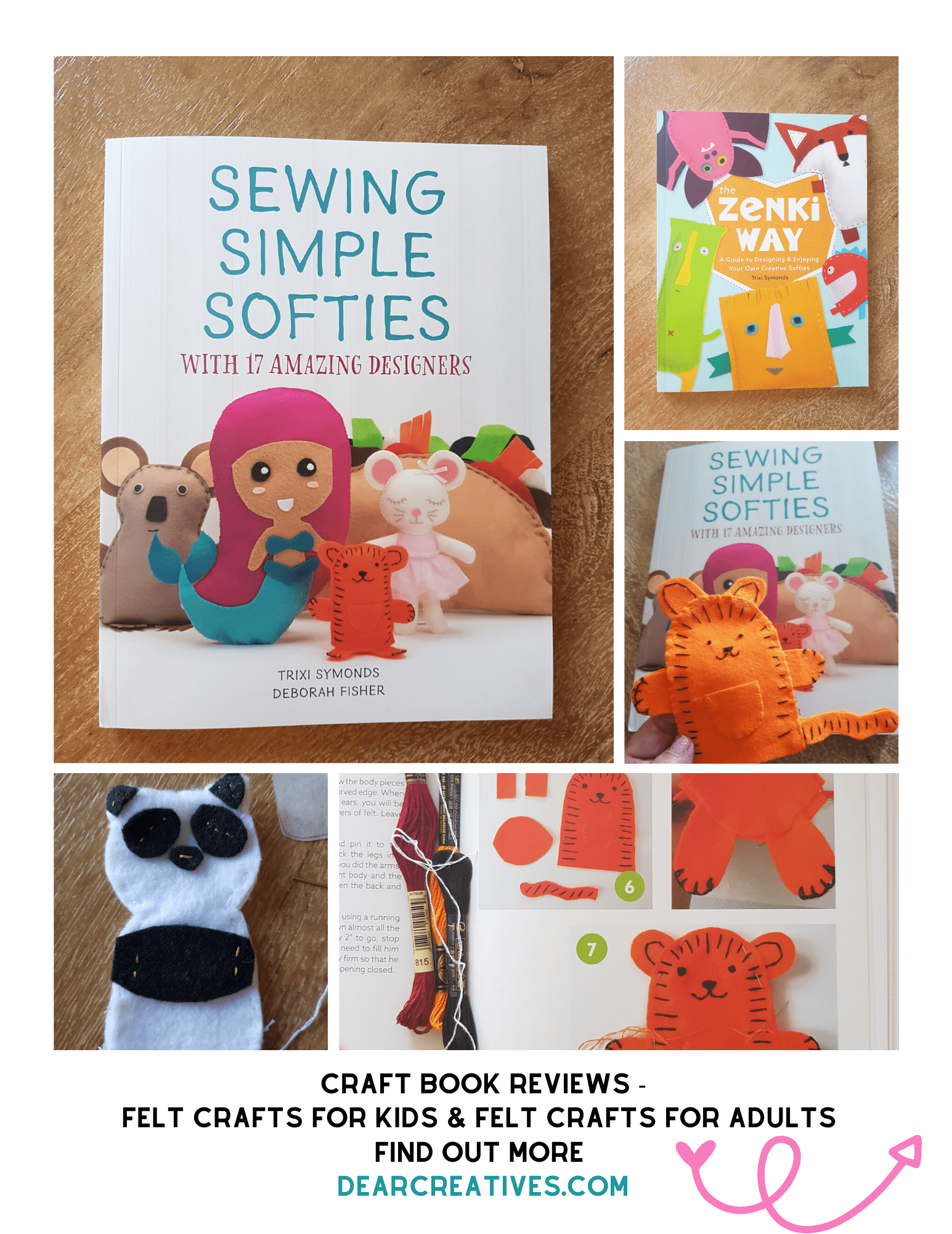 Craft Books Review – Sewing Simple Softies…