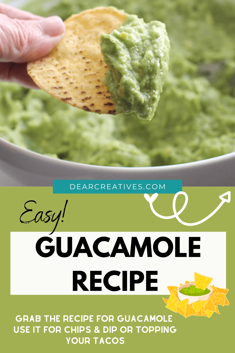 Easy Guacamole Recipe Is Simply The Best!