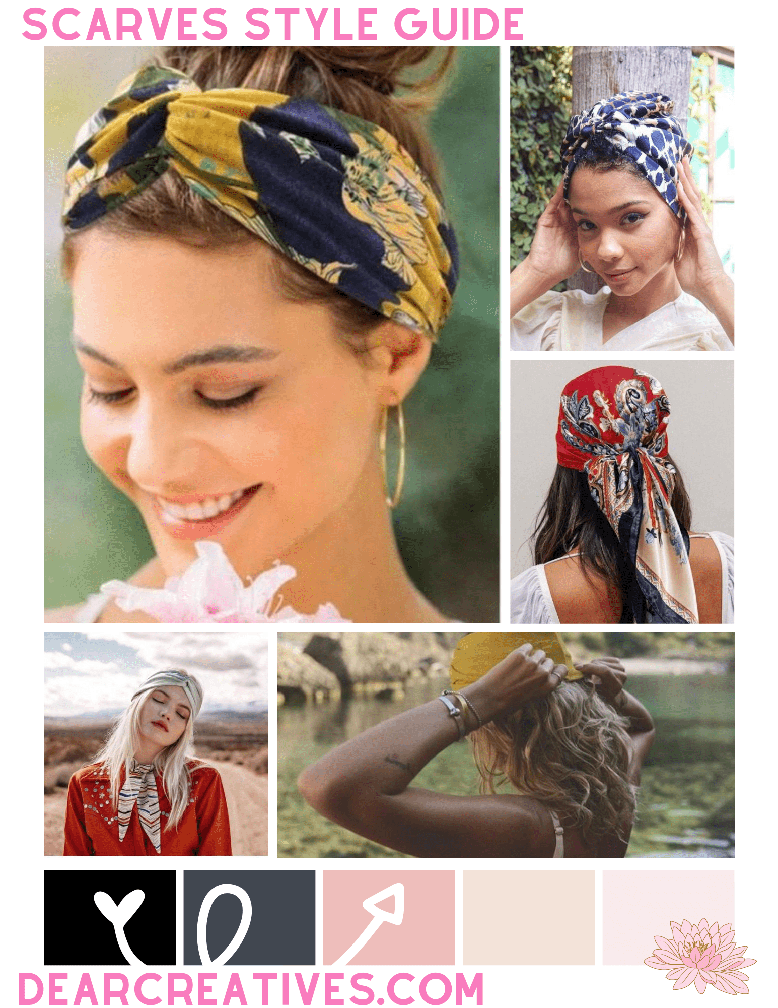 Summer Scarves + Sunglasses Trend & Style Guide