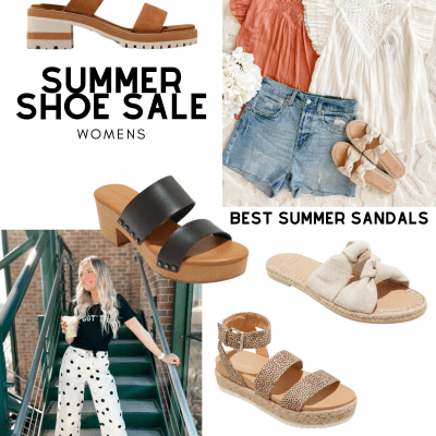 THE BEST SUMMER SANDALS - SUMMER SHOE SALE FOR WOMEN'S SHOES! FIND OUT MORE DEARCREATIVES.COM.