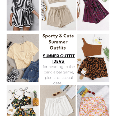 Casual Summer Fashion Trends - Sporty summer fashions and casual summer fashions... DearCreatives.com