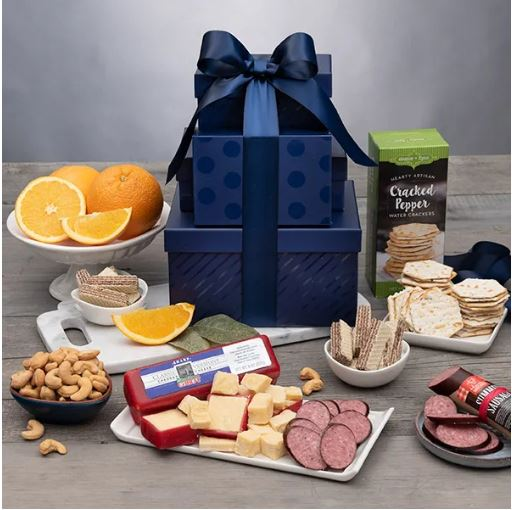 Gourmet Gift Baskets - Best dad ever gift tower