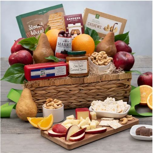 Gourmet Gift Baskets Father's Day orchard Fruit basket