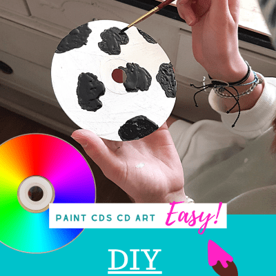 Paint CDs - Have you ever wondered how to paint CDs Try this paint craft! Crafts for Kids, Teen Craft and Adult Crafts. - See this DIY Craft Project + Tips DearCreatives.com