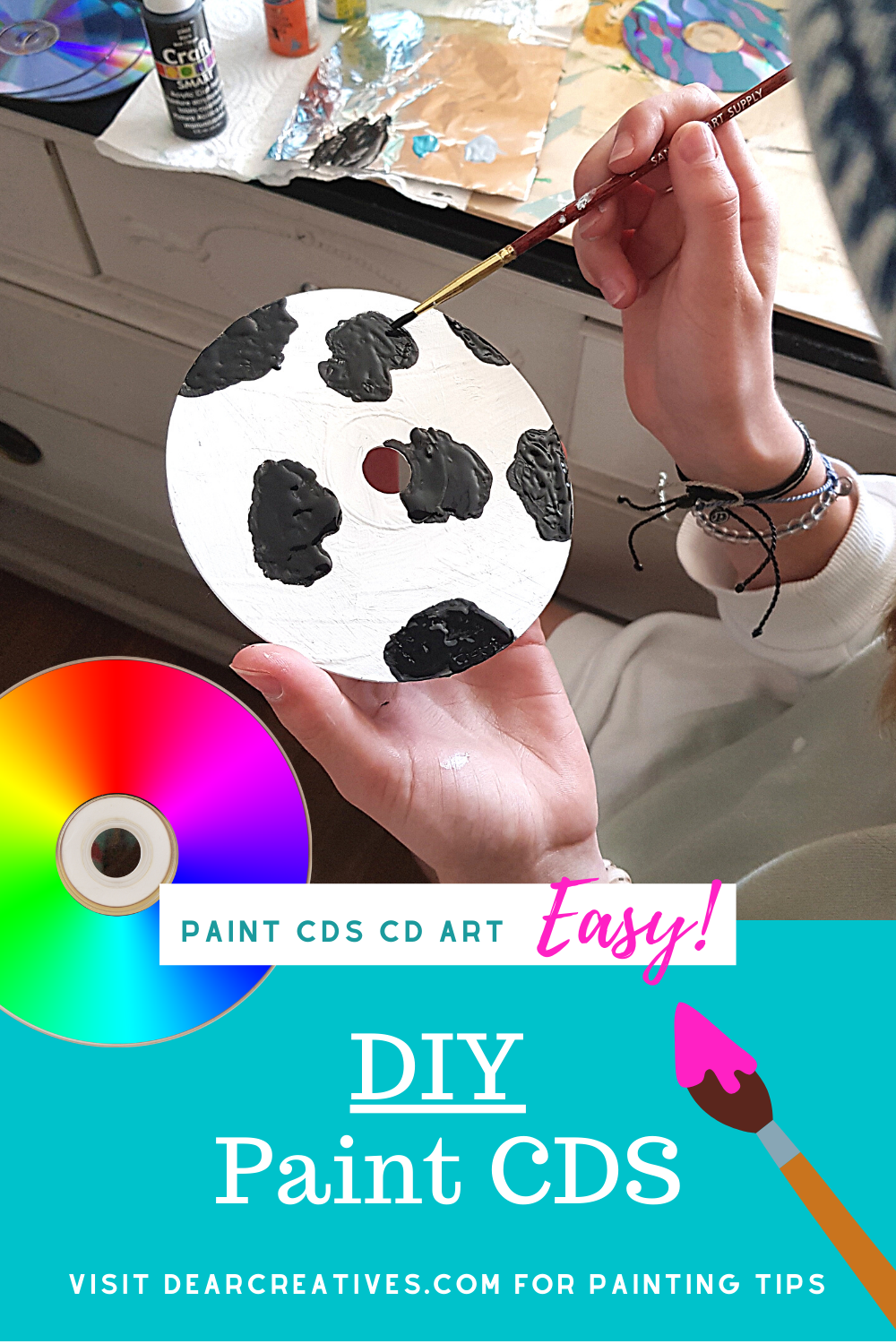 Paint CDs – Tips, Ideas, And How To!