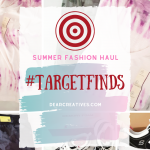 Summer Fashions - Target Finds - shorts, activewear, tee shirts, workout shoes for women, and casual summer wear.