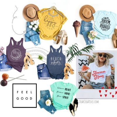 Summer Vibes - Fashion for women for the summer, beach and 4th of July - DearCreatives.com
