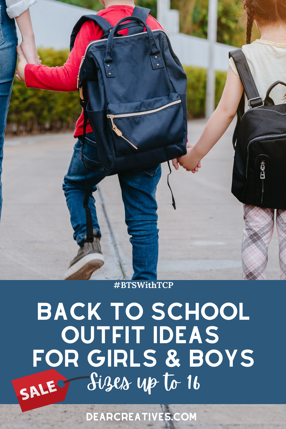 Back To School Clothes - #BTSWitTCP See where to get the best clothes for kids for back to school! Save up to 60% off select items and 40% off backpacks...DearCreatives.com #ad