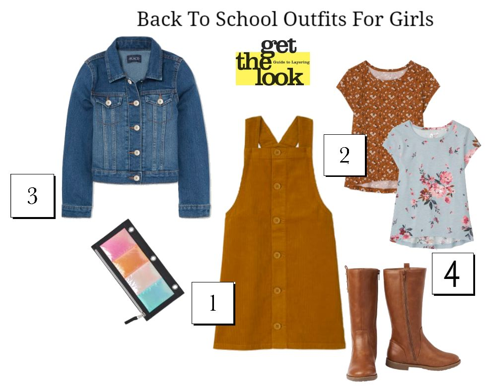 Back To School Outfits For Girls - See where to shop for up to 60% off clothes for kids - DearCreatives.com