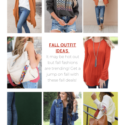 Best Fall Fashions - Fall Outfit Ideas - Get a jump on fall shopping with these cute fall fashions and deals. For women... DearCreatives.com