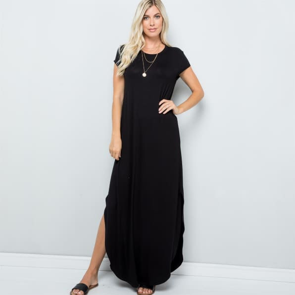 Slit dress for summer - casual and comfy to wear