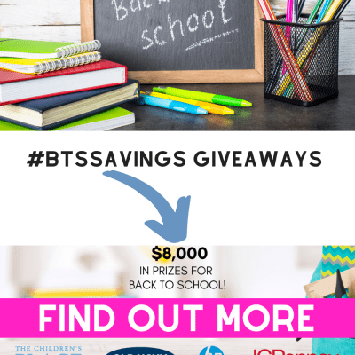 Back To School Savings Giveaways - See how to enter this giveaway for all your favorite places to shop for back to school! Find out more at DearCreatives.com