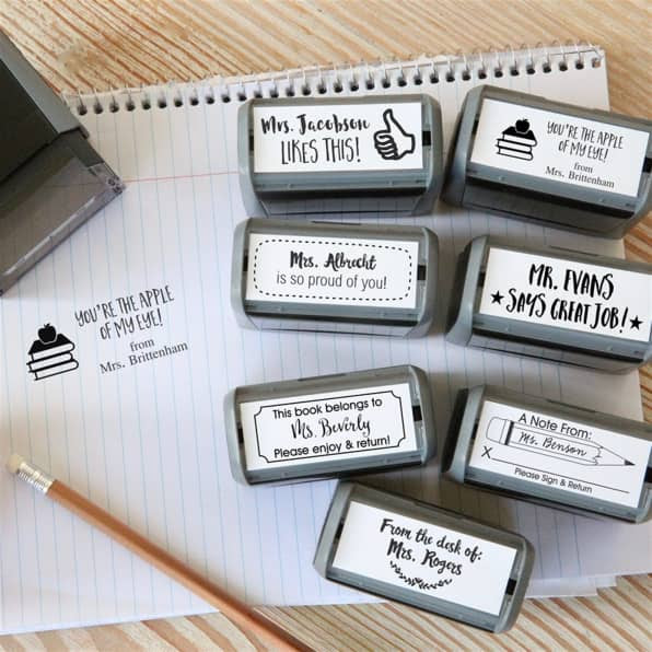 Teacher's Self Inking Stamps