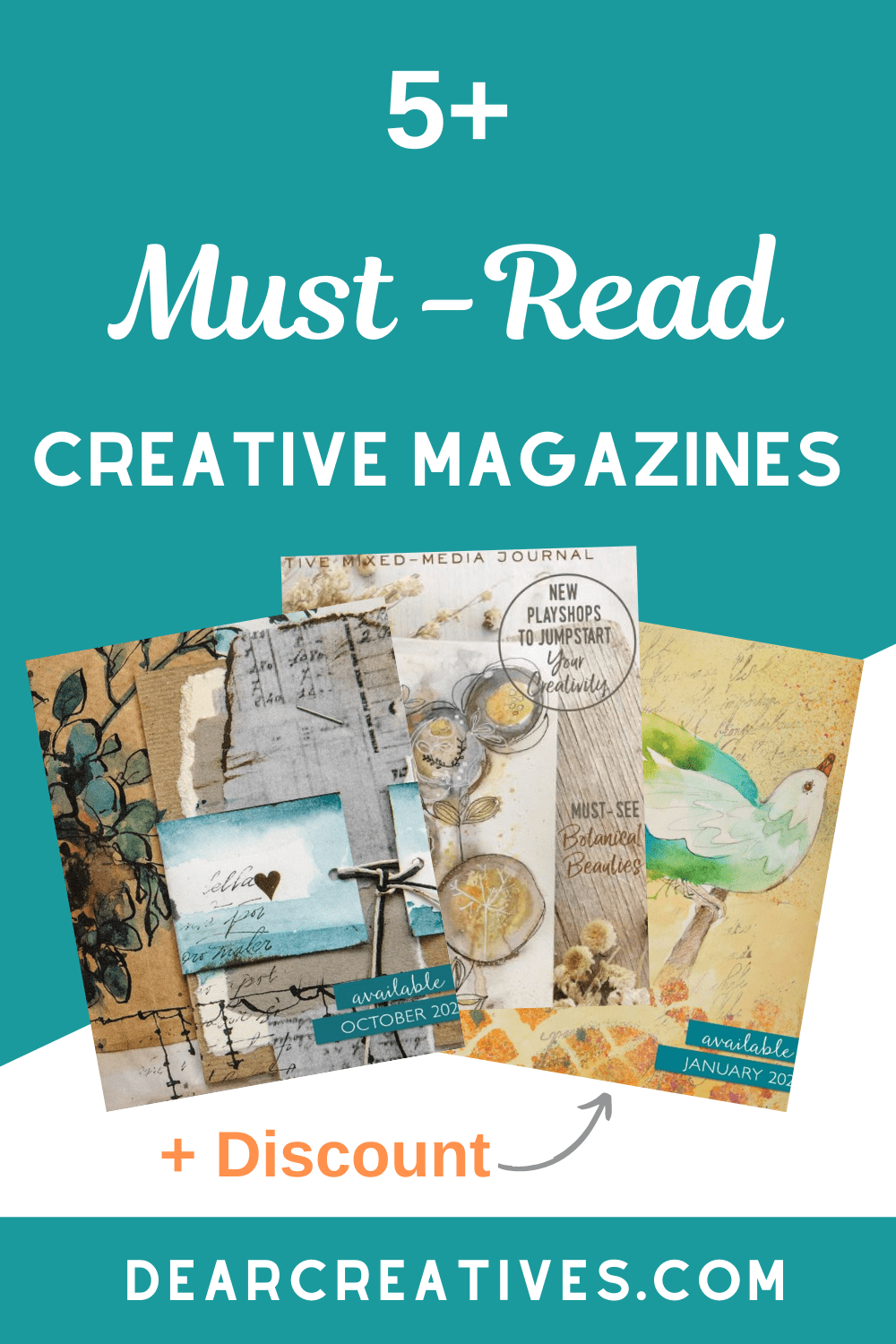 What To Read For Fall – 5+ Creative Magazines + Discounts