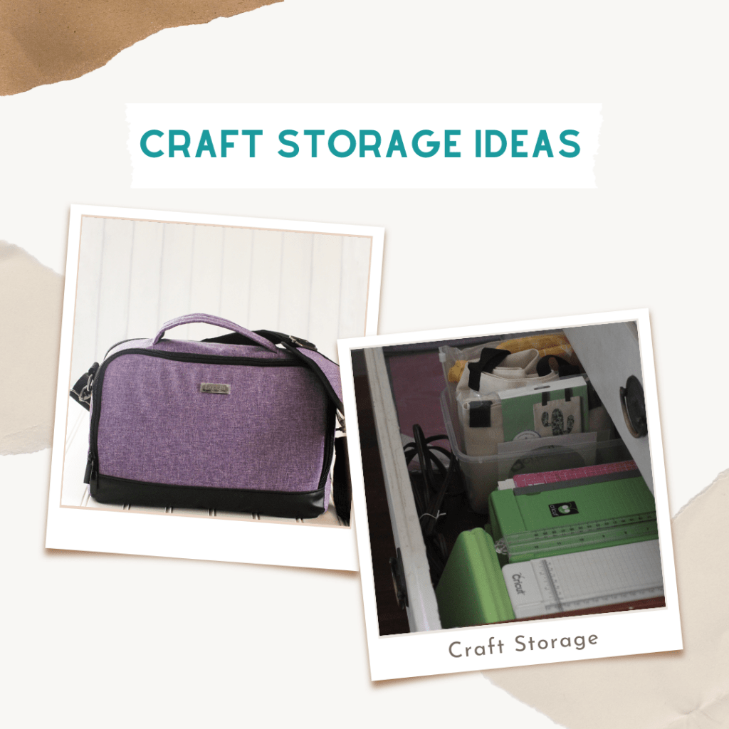 Craft Room Storage Ideas. How to store Cricut Craft Supplies ... Find out more DearCreatives.com