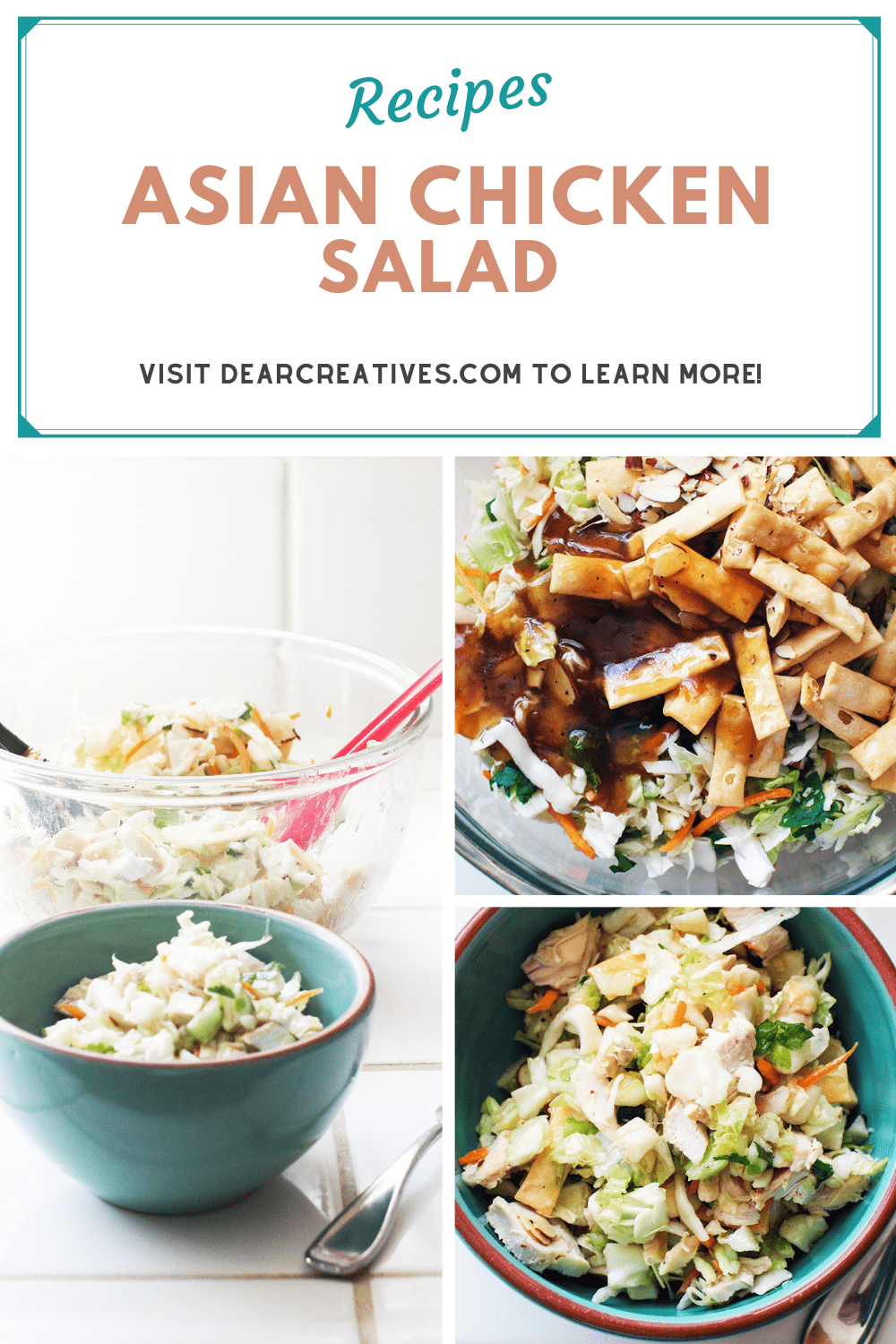 Asian Chicken Salad In 15 Minutes!