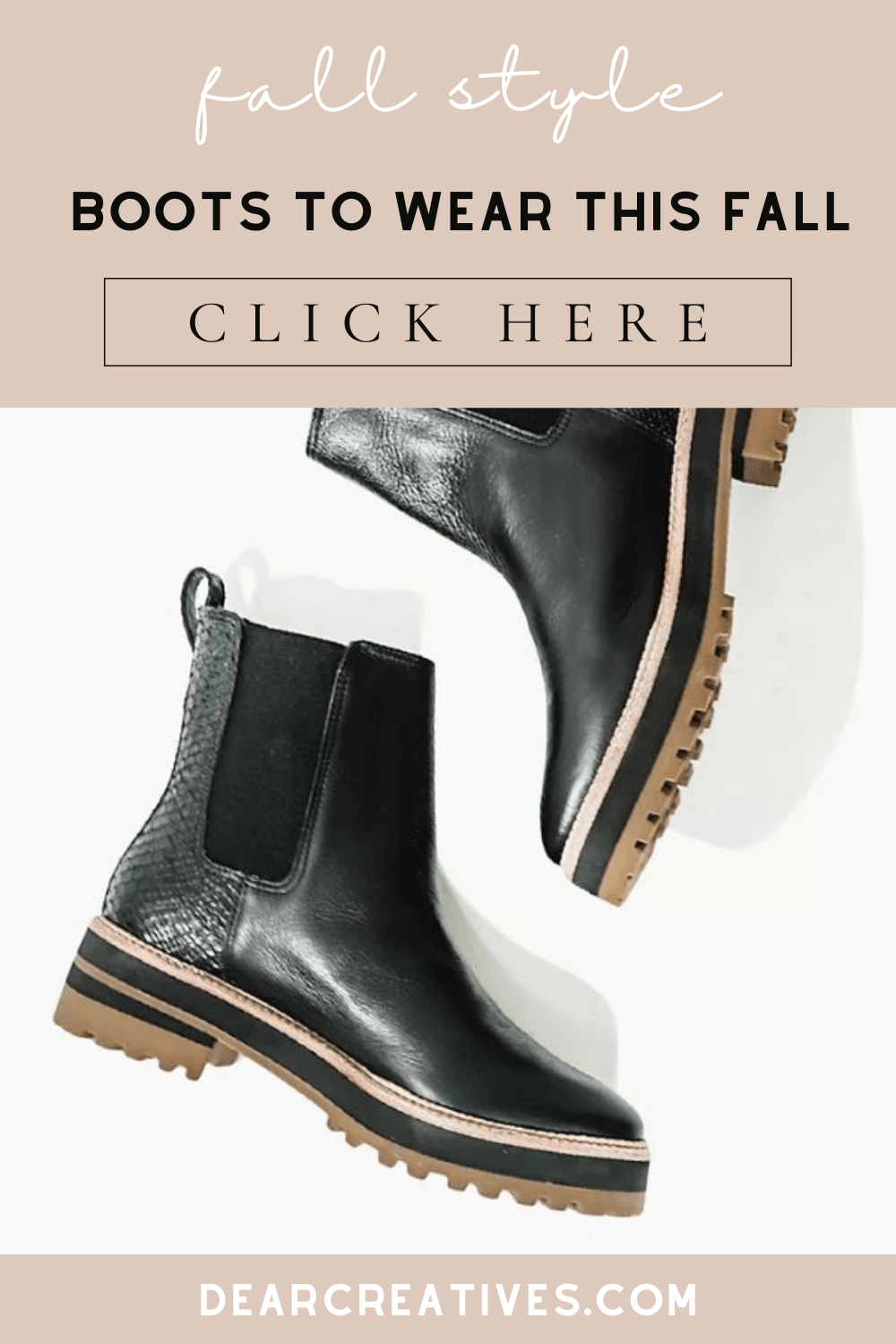 Fall Boots To Wear