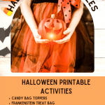 Halloween Printables - printables that are fun before Halloween, activities for October, and for Halloween celebrations. See all the ideas to do and print at DearCreatives.com