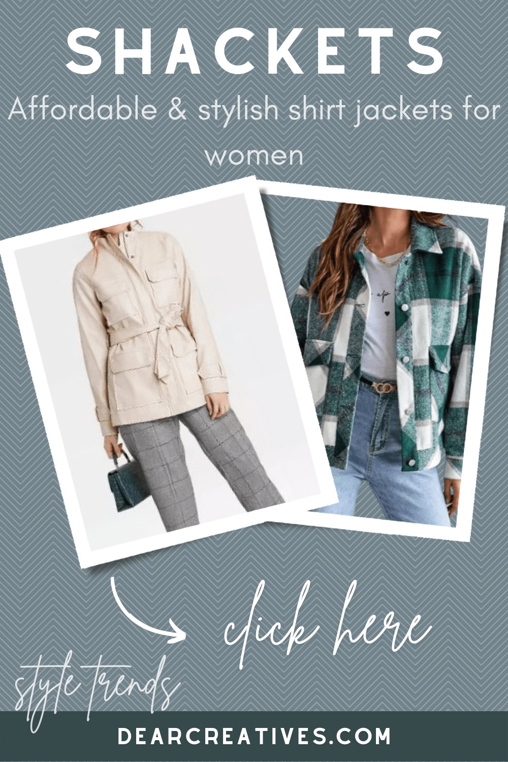 Shirt Jacket Shacket Trend + 10 Must-Haves!
