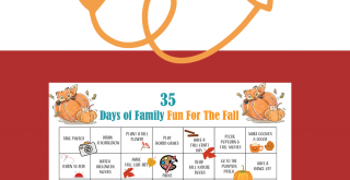 Fall Activity Printable - Free printable fall activity calendar 35 fun things to do this fall! DearCreatives.com