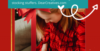 Last-Minute Christmas Gifts For Everyone On Your List! Kids, Teens, Mom, Dad, Wife, Husband, Grandkids... DearCreatives.com