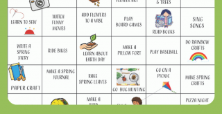 This spring activity calendar is so cute! Print the spring bucket list and have fun doing all the ideas! Find this free printable and more. DearCreatives.com