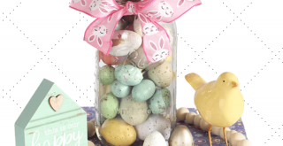 Easter Decorations - DIY Easter Decor - Easter crafts, Mason Jar Crafts and how to decorate for Easter...DearCreatives.com