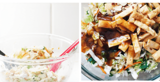 Dinner idea that is so easy! Asian Chicken Salad With a few ingredients and 15 minutes...DearCreatives.com